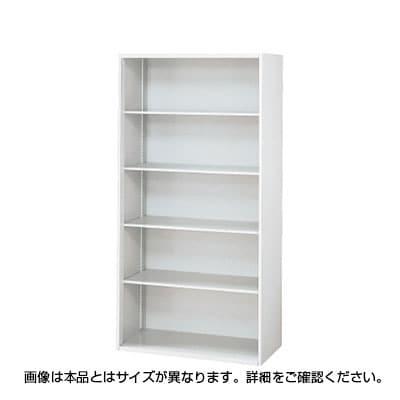 L6-C180E   L6 オープン保管庫 L6-C180E W4 ホワイト 幅900×奥行270×高さ1770mm プラス(PLUS)