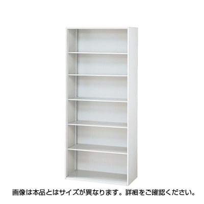 L6-C210E   L6 オープン保管庫 L6-C210E W4 ホワイト 幅900×奥行270×高さ2100mm プラス(PLUS)
