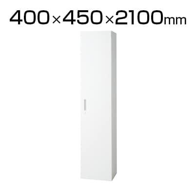 L6-E210AC   L6 片開き保管庫 L6-E210AC W4 ホワイト 幅400×奥行450×高さ2100mm プラス(PLUS)