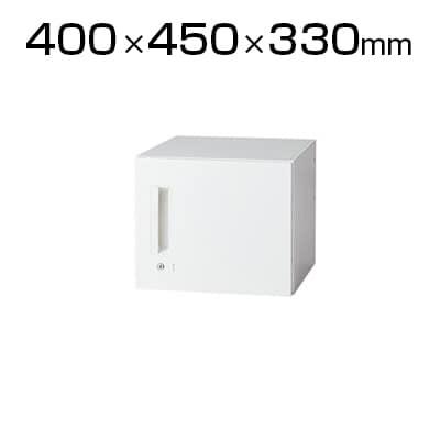 L6-E30ACR   L6 片開き保管庫 L6-E30ACR ホワイト 幅400×奥行450×高さ330mm プラス(PLUS)