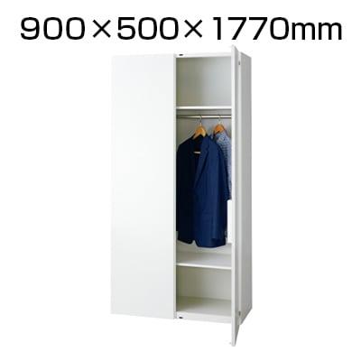 L6-F180L | L6 ロッカー L6-F180L W4 ホワイト 幅900×奥行500×高さ1770mm プラス(PLUS)