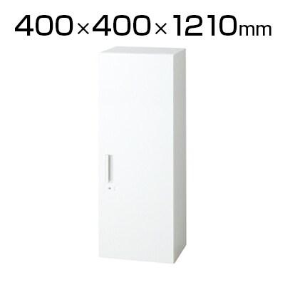 L6-G120AC | L6 片開き保管庫 L6-G120AC W4 ホワイト 幅400×奥行400×高さ1210mm プラス(PLUS)