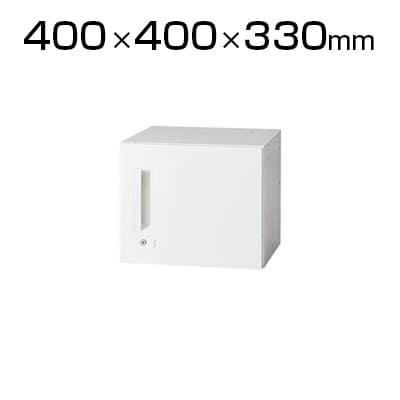 L6-G30ACR | L6 片開き保管庫 ホワイト 幅400×奥行400×高さ330mm プラス(PLUS)