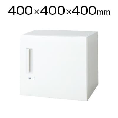 L6-G40ACR | L6 片開き保管庫 L6-G40ACR W4 ホワイト 幅400×奥行400×高さ400mm プラス(PLUS)