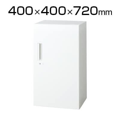 L6-G70AC | L6 片開き保管庫 L6-G70AC W4 ホワイト 幅400×奥行400×高さ720mm プラス(PLUS)