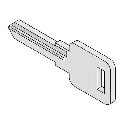 内筒交換キー ST-CK W19×D2×H52mm