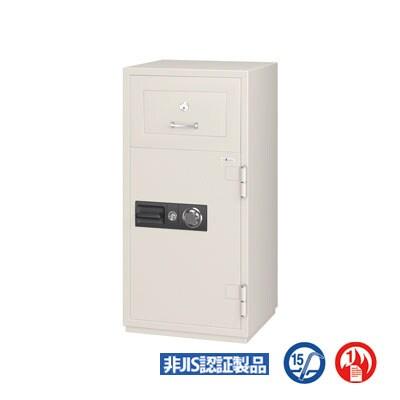 【エーコー】 投入式耐火金庫 ダイヤル式 内容量:90.5L 重量:395kg/PSG-125