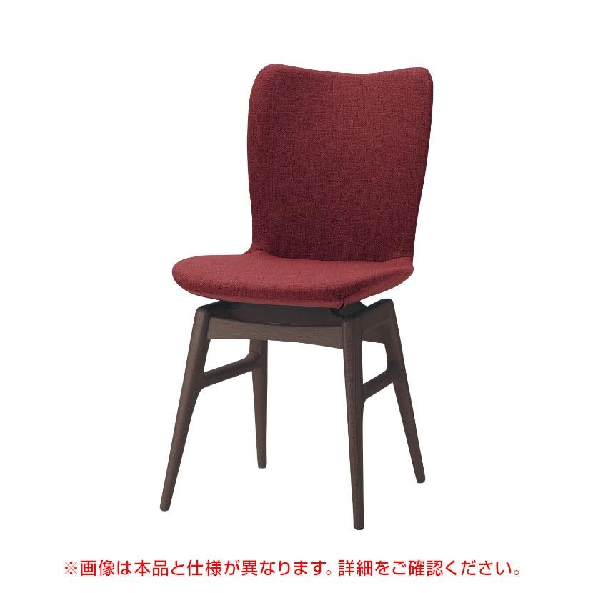QUON(クオン)/木製イス Feminine 2(フェミニン 2)肘なし 幅420×奥行520×高さ790mm 軟質モールドウレタン 張地選択 フレーム選択(3色)