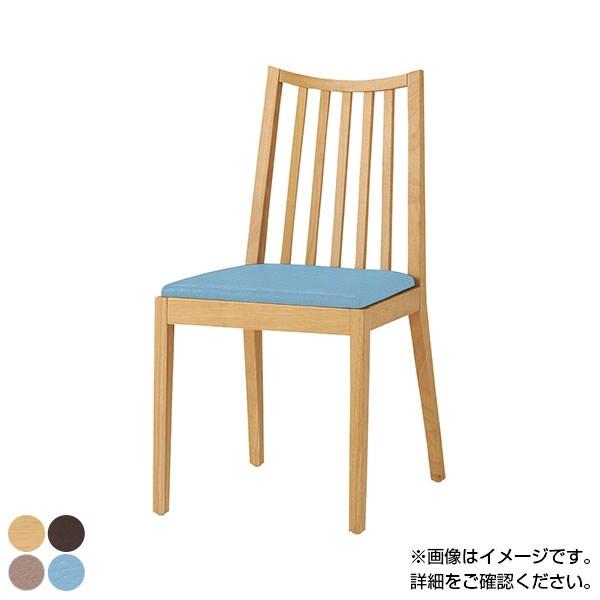 QUON(クオン) ライスイス PVC(ライト) ダイニングチェア ラウンジチェア 木製ダイニング椅子 幅420×奥行510×高さ820mm