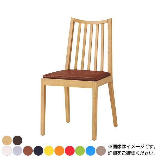 QUON(クオン) ライスTイス PVC(プレザント) ダイニングチェア ラウンジチェア 木製ダイニング椅子 幅420×奥行510×高さ820mm