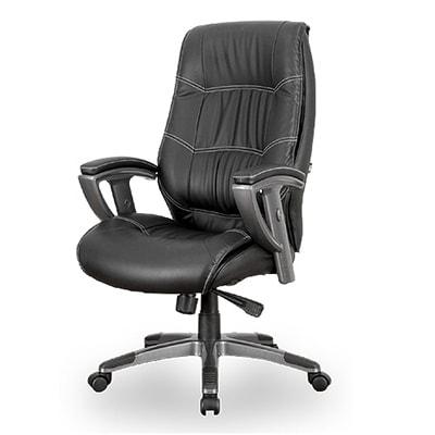 3Dマネジメントチェア レザーチェア オフィスチェア ハイバック 役員椅子 REC-315AX