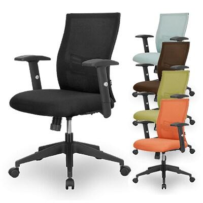 デスクチェア オフィスチェア 事務椅子 NOW メッシュチェア2 肘付 ランバーサポート付 RWC-10AX