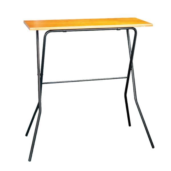 エフカウンターテーブル 幅900×奥行430×高さ935mm 折りたたみ式 完成品 日本製