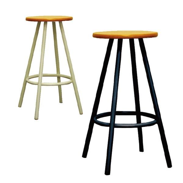 ポルッカ ウッドスツール 北欧風 作業椅子