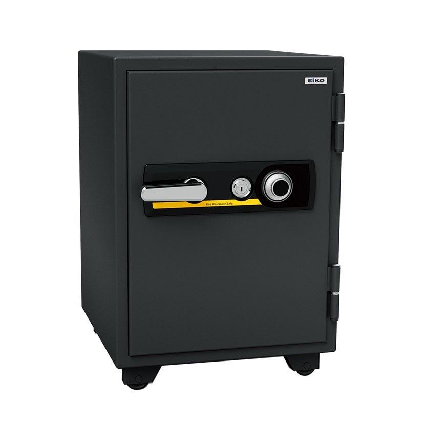 【エーコー】家庭用 耐火金庫 ダイヤル式 A4ファイル収納可 自動ロッド装置付き/BSD-7