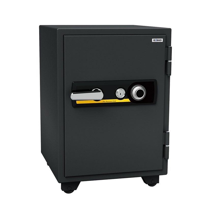 【エーコー】家庭用 耐火金庫 ダイヤル式 A4ファイル収納可 自動ロッド装置付き/BSD-X