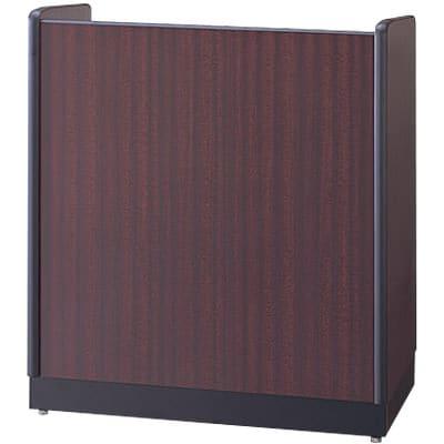 木製演台 演説台 教壇 幅900×奥行450×高さ1000mm/SE-ED-910