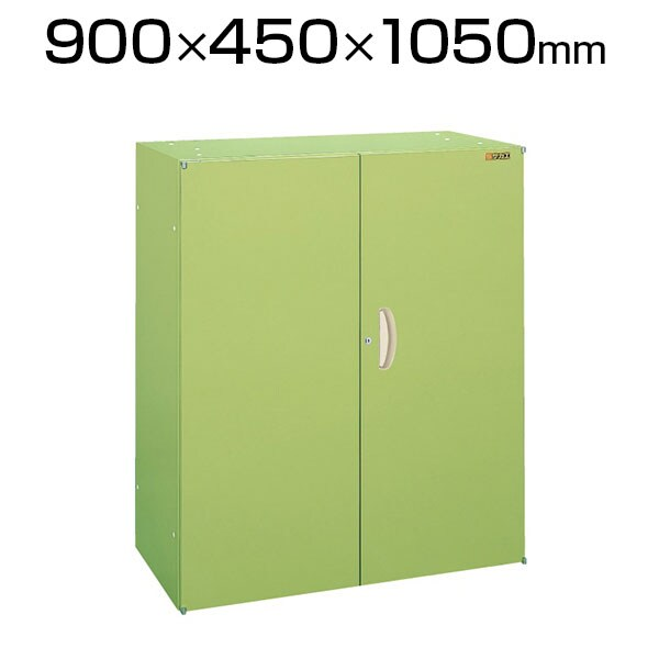 サカエ SK-10HN | 工具管理ユニット 両開き 3段 工具保管庫 均等耐荷重50kg/段 幅900×奥行450×高さ1050mm