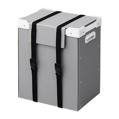 プラダン製タブレット収納ケース(10台用) W365×D260×H435mm