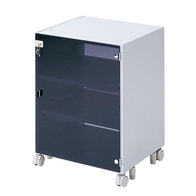 CAIデスク用 CPUボックス 天板固定用 扉付