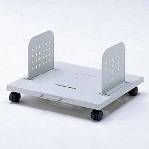 パソコンスタンド(2台設置用) キャスター付き 取付幅345~445mm CPUスタンド/SS-CP-030