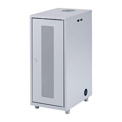 サーバーラック NAS、HDD、ネットワーク機器収納ボックス W300×D420×H700mm