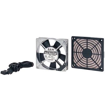 放熱ファン低速(静音)タイプ W120×D120×H25mm