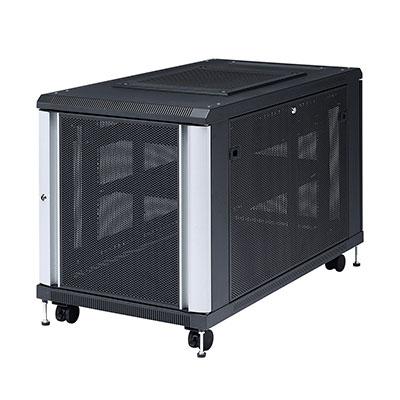 19インチマウントサーバーラック(12U) W600×D1100×H722mm