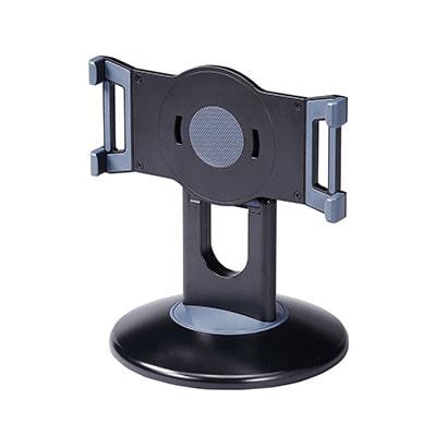 タブレットラック iPad・タブレットスタンド 直径180(台座)×H210mm(支柱)