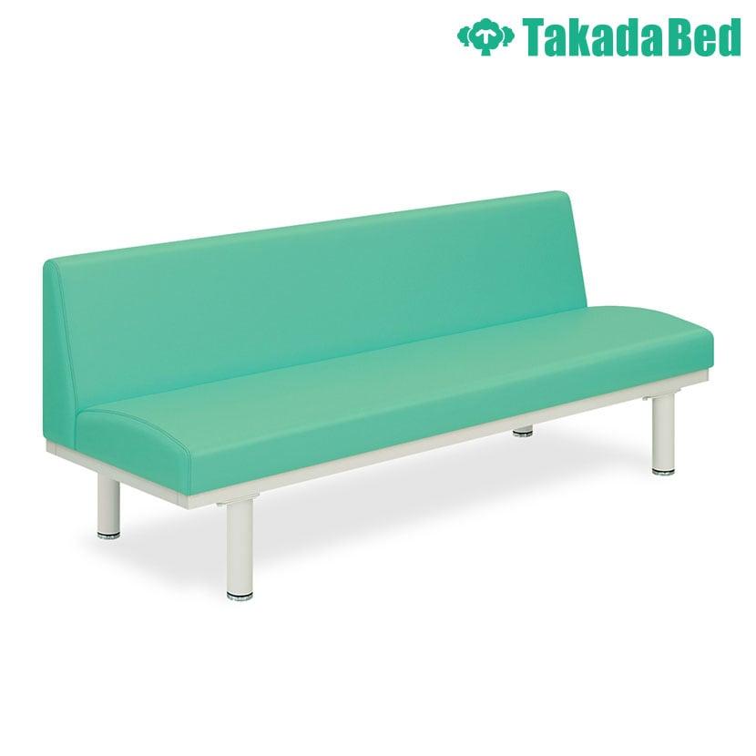 高田ベッド ソファー・チェア TB-1013-01 ヒルチェアー・背付き(01) 待合室 大型円形座面シート採用 立ち上がりやすい サイズ/カラー(18色)選択可能