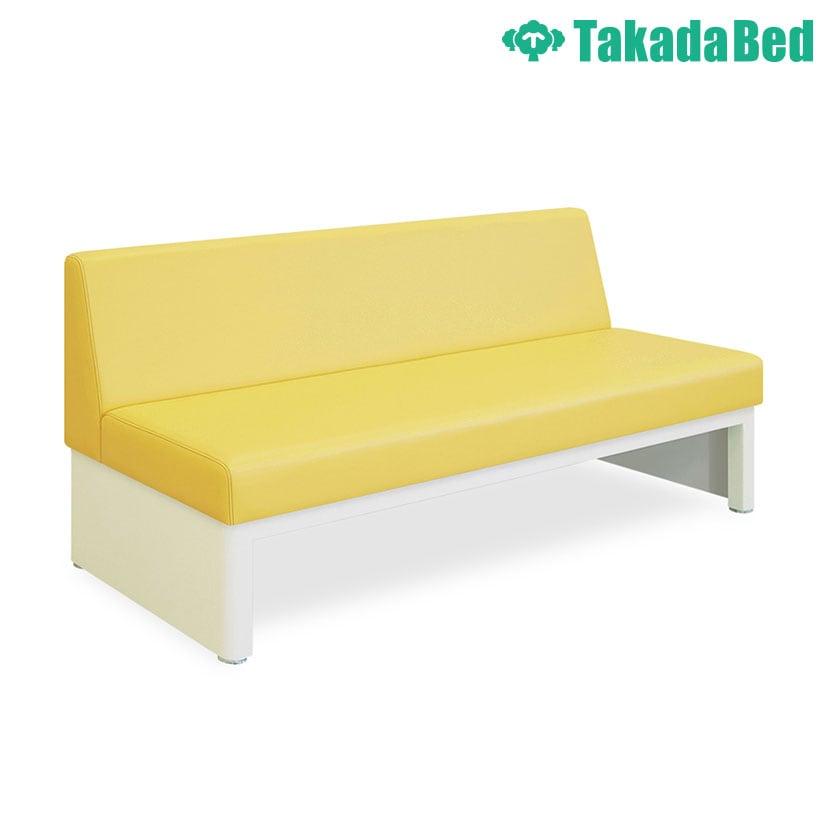 高田ベッド ソファー・チェア TB-344-02 ロビーチェアー・背付き(02) 重量感ある粉体塗装仕上 スチールフレーム サイズ/カラー(18色)選択可能