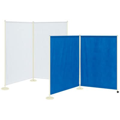 高田ベッド サイズ選択可能 病院 診察室 スクリーン 衝立 カーテン 仕切り Wライトスクリーン/TB-669