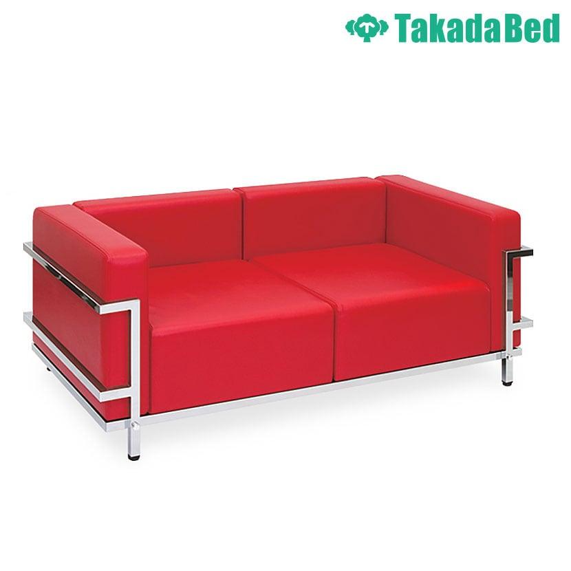 高田ベッド ソファー・チェア TB-742-02 グライド(02) 待合室 クッション性追求 ゆったり座面 クロムメッキフレーム サイズ/カラー(18色)選択可能