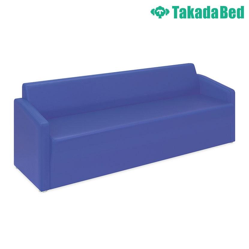 高田ベッド ソファー・チェア TB-821-04 ロビーMD(04) 傾斜背もたれで安定感抜群 座部スリット加工 両肘掛け仕様 サイズ/カラー(18色)選択可能