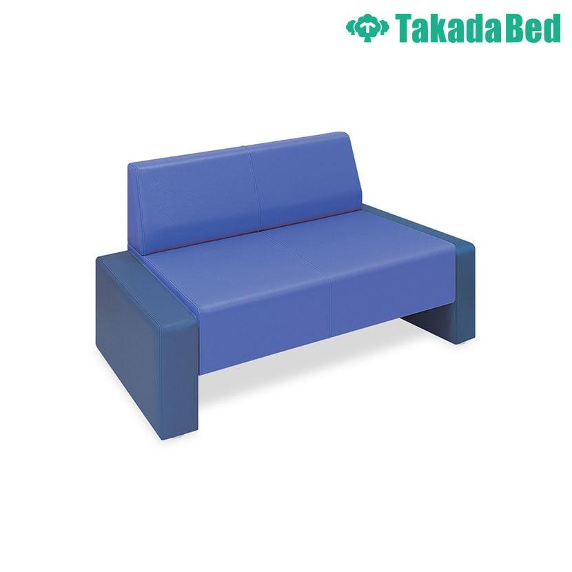 高田ベッド ソファー・チェア TB-832-02 STピース(02) 下部オープンタイプ シームライン縫製採用 サイズ/カラー(座/背:18色 両サイド:18色)選択可能