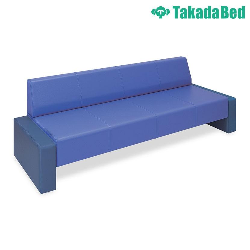 高田ベッド ソファー・チェア TB-832-03 STピース(03) 下部オープンタイプ シームライン縫製採用 サイズ/カラー(座/背:18色 両サイド:18色)選択可能
