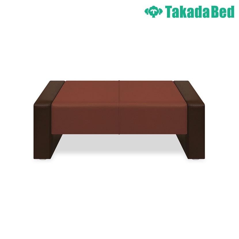 高田ベッド ソファー・チェア TB-833-02 SNピース(02) 下部オープンタイプ シームライン縫製採用 サイズ/カラー(座:18色 両サイド:18色)選択可能