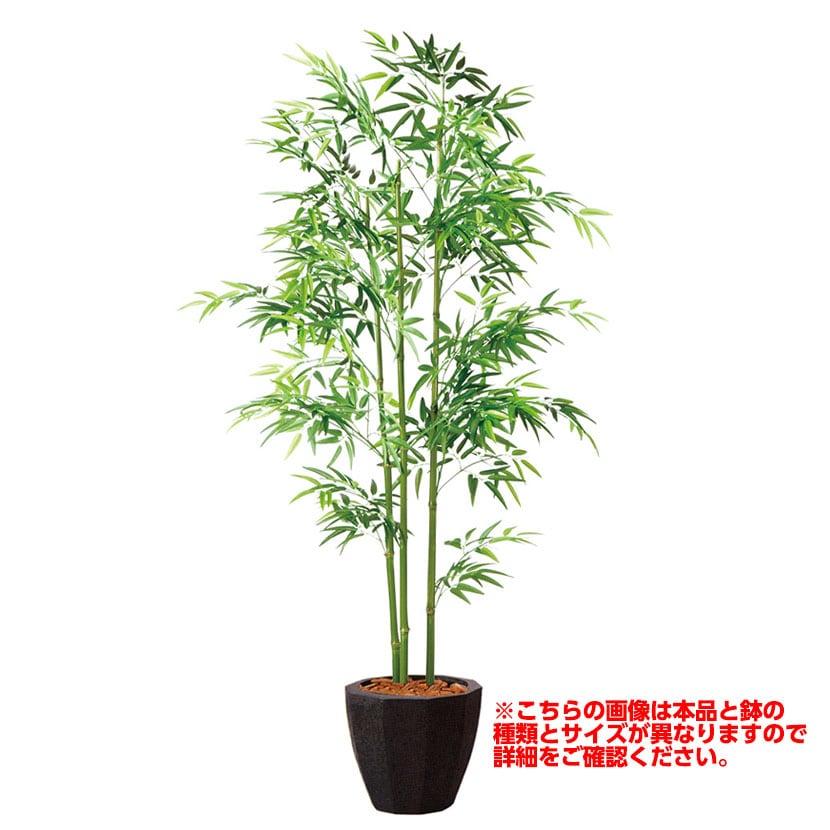 観葉植物 人工 樹木 青竹3本立 高さ1500mm Mサイズ 鉢:懸崖8号