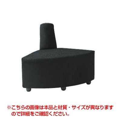DLCシリーズ ロビーチェア 背もたれ付 内コーナー レザー張り / DLC-R30L