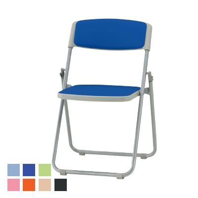 F-900シリーズ 折りたたみチェア ミーティングチェア 会議椅子 スチール脚タイプ レザーチェア