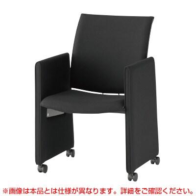 会議椅子 おしゃれ FMPシリーズ ミーティングチェア パネル脚タイプ レザーチェア / FMP-KP4L