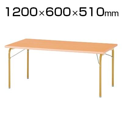 JRM/JRKシリーズ キッズテーブル 角型 木製 幅1200×奥行600×高さ510mm / JRK-1260H
