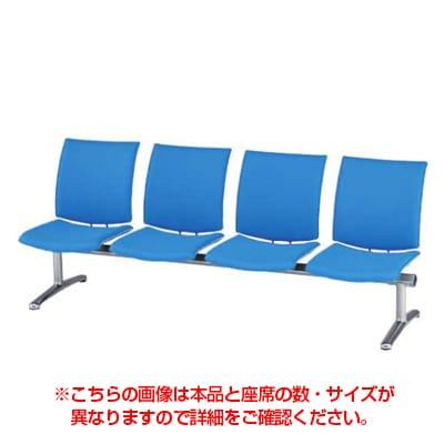 LPシリーズ ロビーチェア 3人用 肘なし 布張り / LP-3