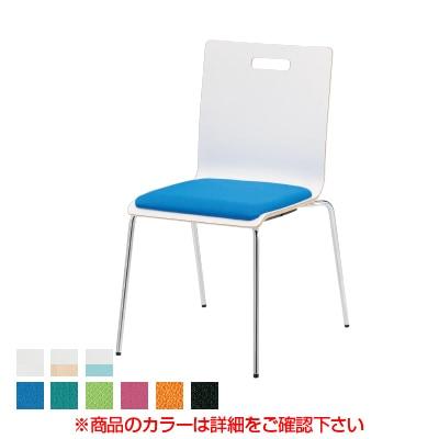 会議椅子 ミーティングチェア PMシリーズ リフレッシュチェア 4本脚タイプ 布張り 国産