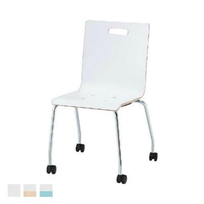 会議椅子 おしゃれ PMシリーズ リフレッシュチェア キャスター脚タイプ 木製