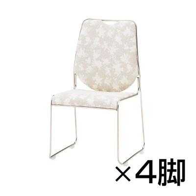 【4脚セット】宴会・式場・レセプションチェア/TO-RC-15