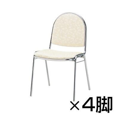 【4脚セット】宴会・式場・レセプションチェア/TO-RC-R40