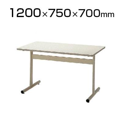 会議室 テーブル ミーティングテーブル 角型 幅1200×奥行750×高さ700mm / TT-TW1275
