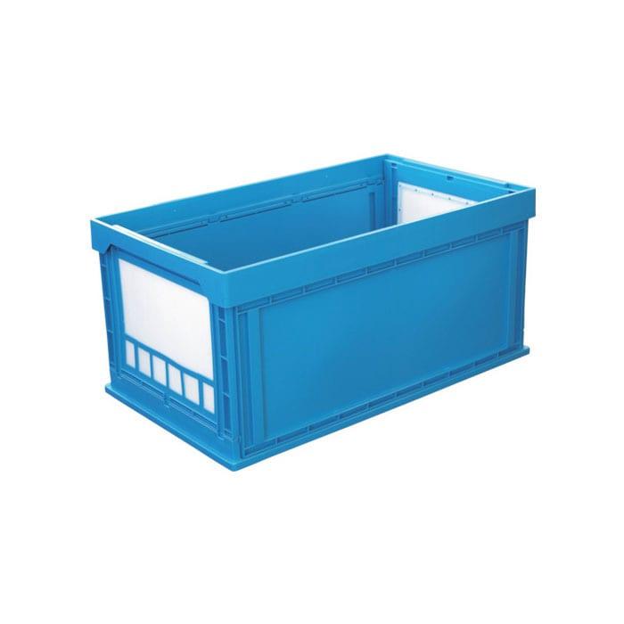 KUNIMORI プラスチック折畳ミコンテナ パタコン N-150 ブルー 50200-N150-B