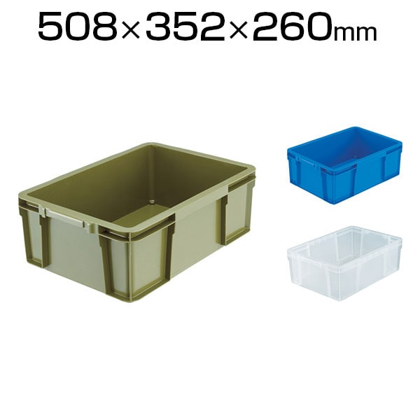 THC-23A   THC型コンテナ 収納ボックス コンテナボックス 有効内寸442×298×170mm トラスコ中山 (TRUSCO)